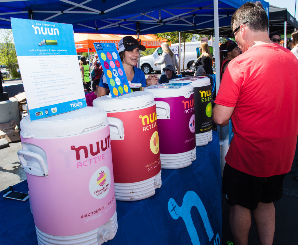 nuun at Ragnar