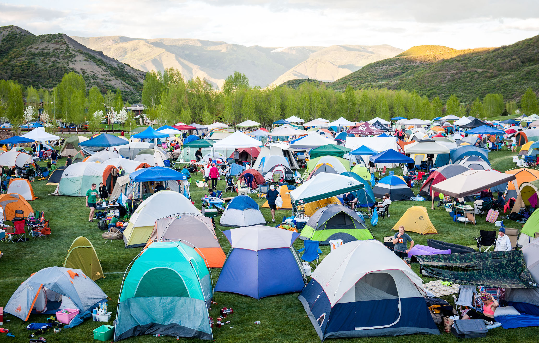 Tents at Ragnar Trail & Trade Your Vans for Tents and Try a Ragnar Trail Relay - Ragnar ...